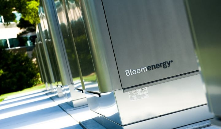 Bloom's revenue story distinguishes it from the rest of the fuel cell pack.