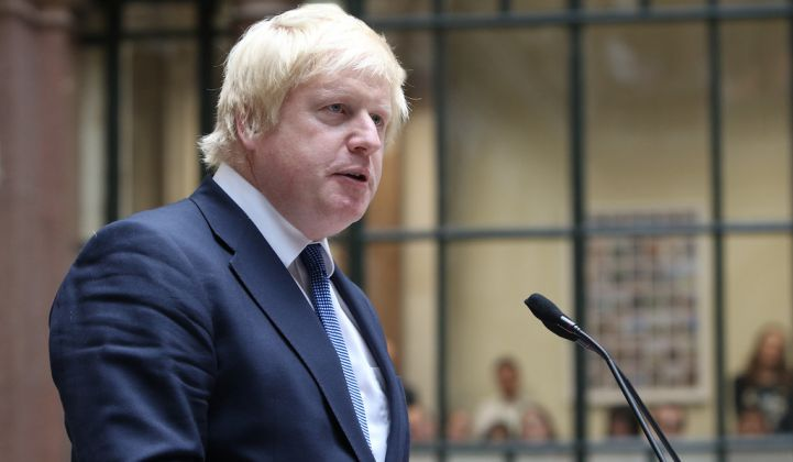 Prime Minister Boris Johnson is hoping to create 250,000 jobs in the energy sector. (Credit: U.K. FCO)