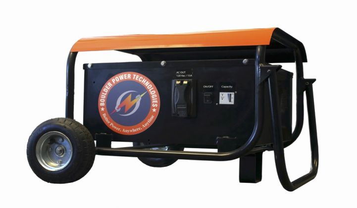 The Battery-Powered Mobile Generator, Courtesy of Boulder Power