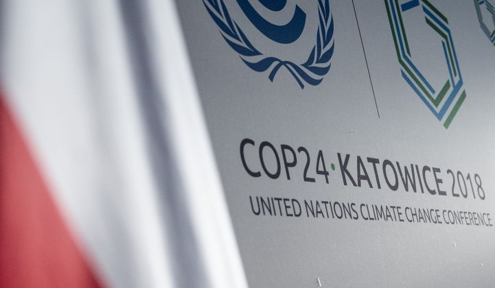 Climate negotiators meet to hash out rules for the Paris climate agreement.