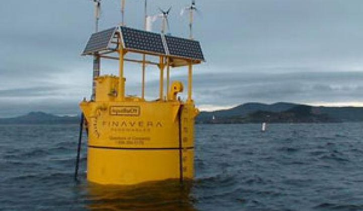 California Sinks Its First Wave Energy Project
