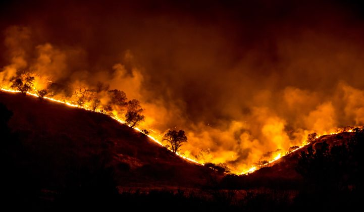 California's wildfire season is approaching. (Credit: Wikicommons/Peter Buschmann, USDA)