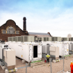 NEC Energy Solutions supplied the 20-megawatt Carnegie Road battery, Ørsted's first foray into large-scale grid storage. (Photo credit: Ørsted)