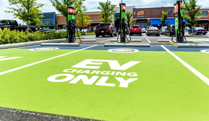 ChargePoint, whose backers include Chevron, operates the world's largest network of EV chargers.