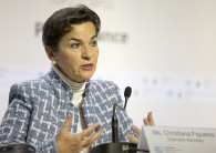 Christiana Figueres led the U.N. climate process during the Paris Agreement's formative years. (Credit: UNFCCC)