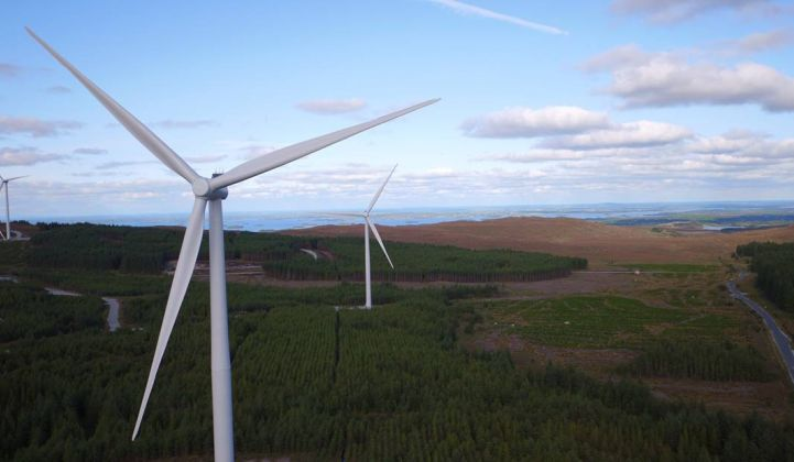 Ireland plans to diversify its renewables mix away beyond onshore wind. (Credit: SSE)