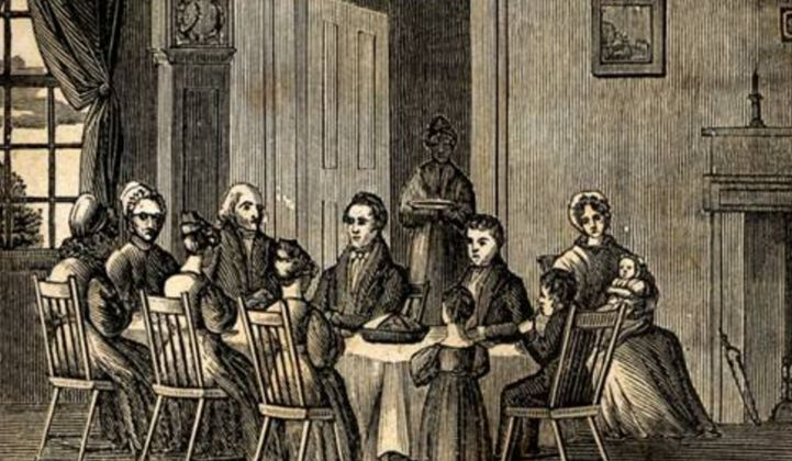 GTM's Book of Customs, Traditions and Etiquette, Vol. 1: Talking 'Grid Edge' at Thanksgiving Dinner