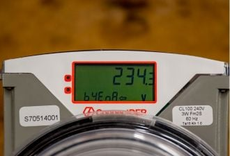 Utilities deploy the smart meter collar to help monitor behind-the-meter resources. (Credit: ConnectDER)