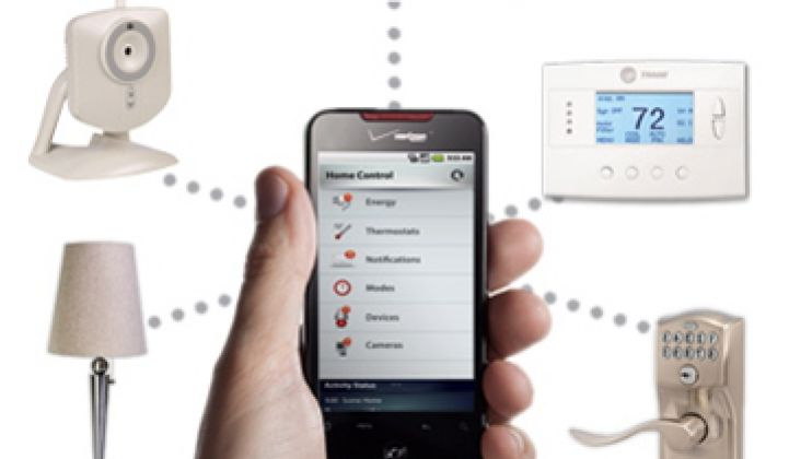 Verizon Launches Home Automation, via Z-Wave