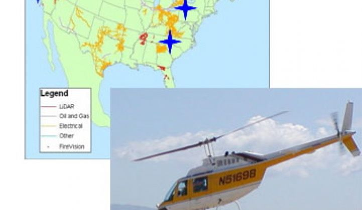 LIDAR-Equipped Helicopters and Digitally Connected Linemen