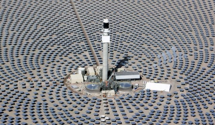 Concentrating Solar Power Isn't Worth Much Without Storage, Say Leading Executives