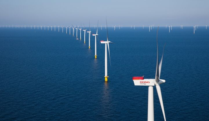 In New England and New York, 80 percent of wind build through 2026 will be located offshore.