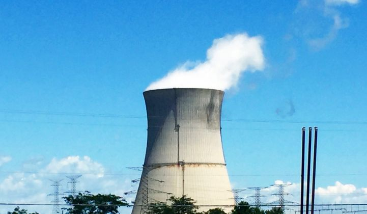 It's blue skies ahead for the 40-year-old Davis-Besse nuclear plant if the bill becomes law.