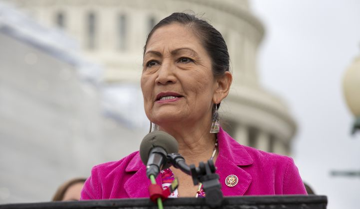 Haaland would be the first Indigenous person to lead the Department.