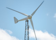 Small-wind turbine manufacturers have continued cutting their LCOE. (Credit: Bergey Windpower)