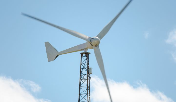 Struggling Distributed Wind Sector Eyes Role In Microgrids Market Greentech Media