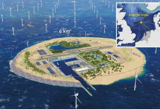 Denmark, Germany and the Netherlands Want to Build an Island Hub to Support 100GW of Offshore Wind