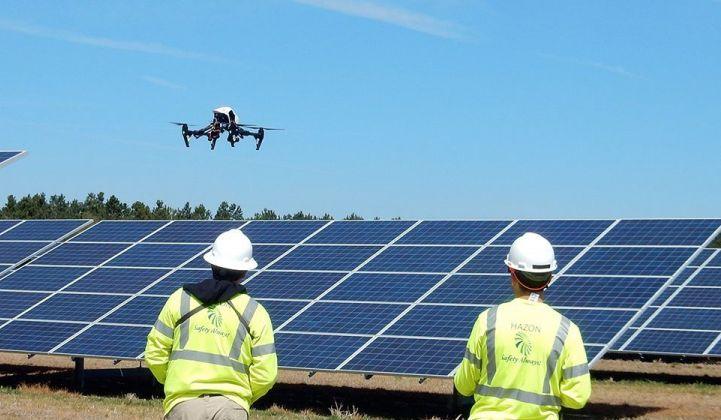 Why Drones Are 'Game-Changing' for Renewable Energy