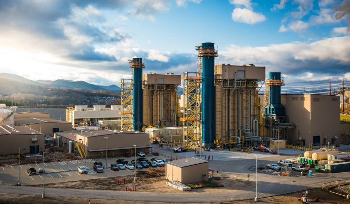 Duke Energy opened its new 560MW Asheville combined cycle natural gas plant this year. (Photo: Duke)