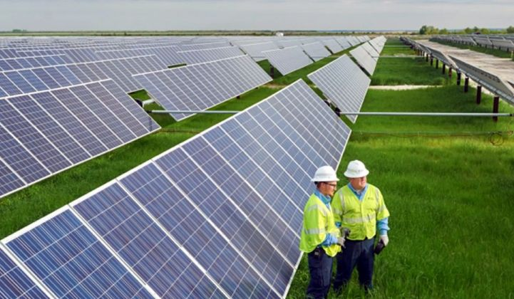 Duke Energy utility-scale solar farm