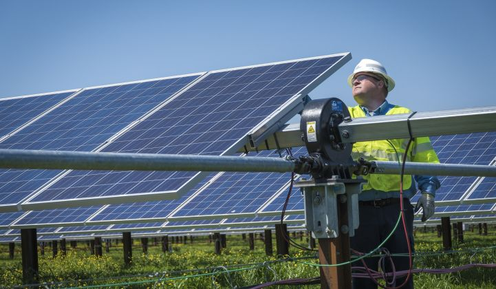 Upward revision: Can the U.S. build 70 gigawatts of renewables a year? (Photo: Duke Energy)