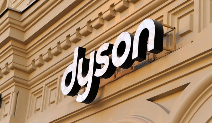 Dyson chooses Singapore for electric vehicle production.