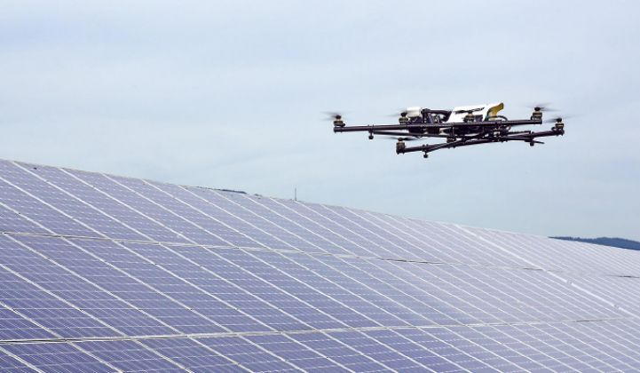 Flying Robots Are the Future of Solar