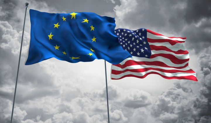 The EU is one of several parties demanding compensation for new US solar safeguard measures.