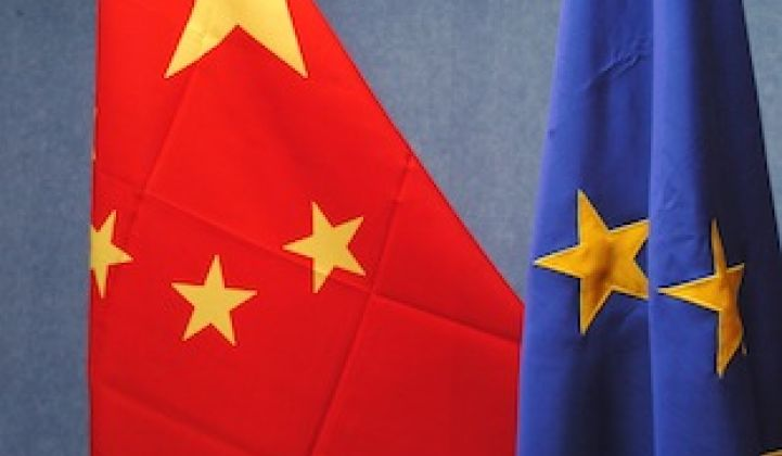 The EU-China Solar Deal in 2 1/2 Charts
