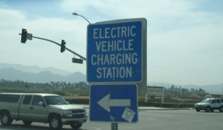 350Green Takes on Electric Vehicle Charging