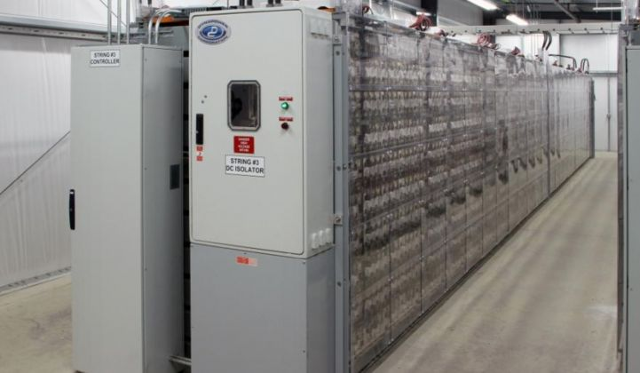 Ecoult emerges out of the shadows with another grid-scale battery project.