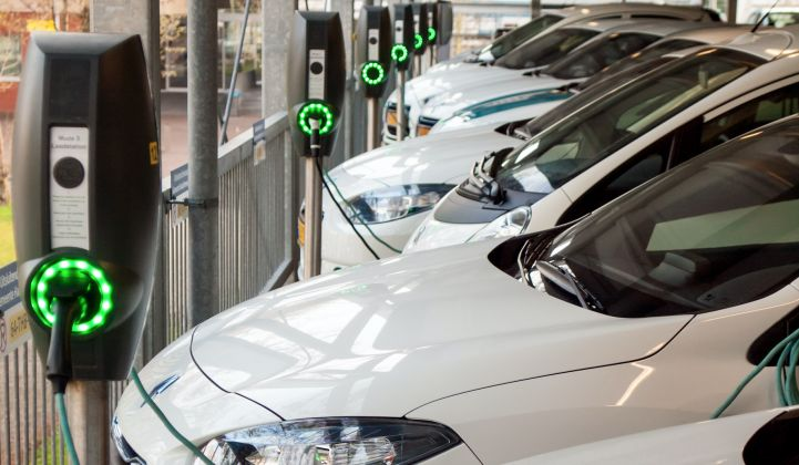 Flex Technology Reduces Peak Demand From Electric Car Chargers