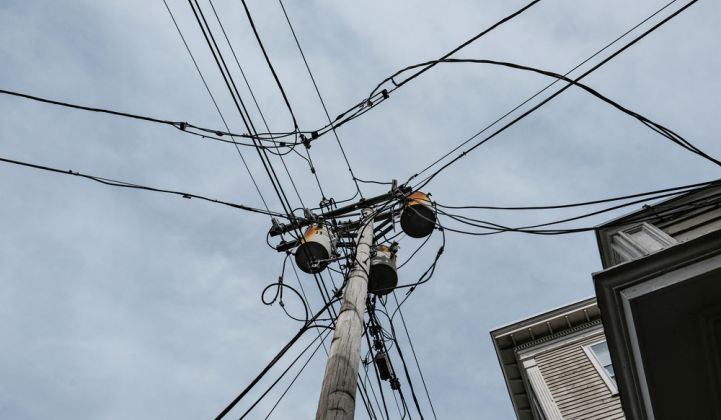 Electric distribution systems power cables and transformers in Salem, Massachusetts