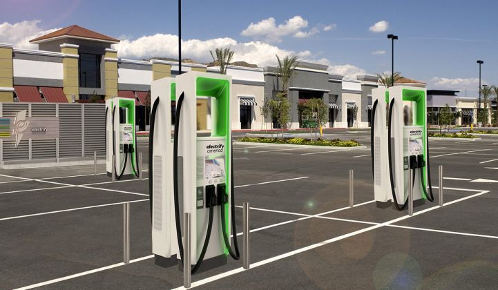 Electrify America Shuts Down High Powered Charging Stations Over Safety Concerns Greentech Media