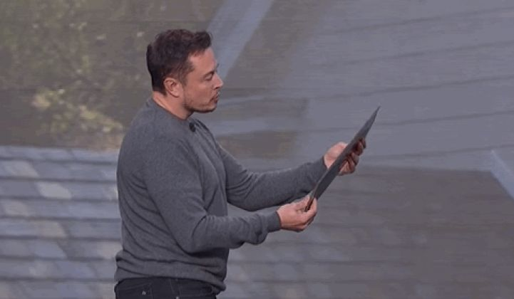 Tesla's Solar Roof Was Code-Named 'Steel Pulse,' and Musk Called the Prototype a 'Piece of Shit'