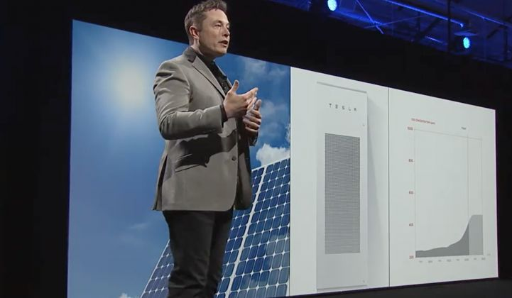 Tesla said residential solar deployments have been affected by a short supply of home batteries.