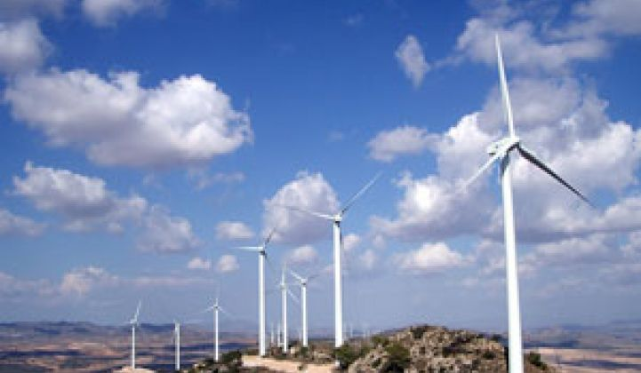 Energy Financing Gone With the Wind