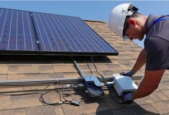 Batteries play a big role in the plans of the top two U.S. residential solar inverter players.