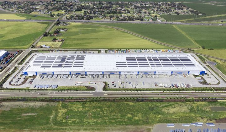 EDF installs rooftop solar systems for corporate clients through its interest in EnterSolar. (Credit: EDF)