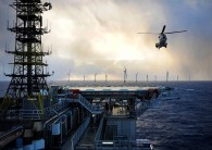 Equinor's Hywind Tampen project will power offshore drilling platforms in the North Sea. (Credit: Equinor)