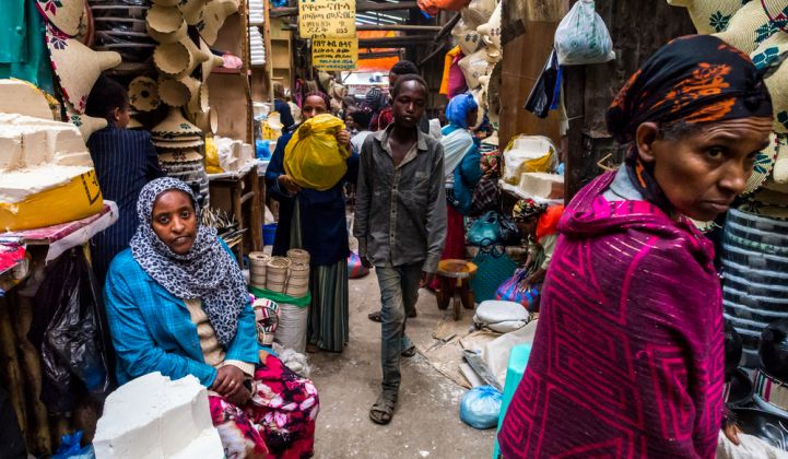 Energy access experts can learn from vendors at Ethiopia's Merkato in Addis Ababa.