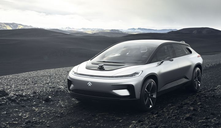 Faraday Future's $1B EV Factory Is Still Just Flattened Dirt, Says Report