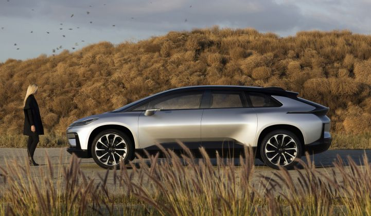 Faraday Future Vows to Defy Skeptics With Its First Production EV