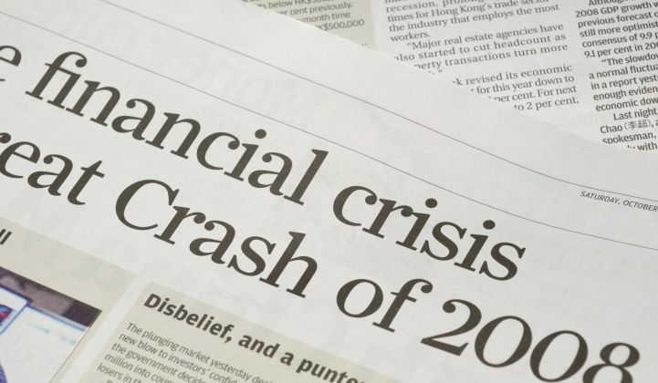 The impact of the financial crisis in energy, a decade on.
