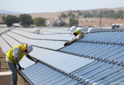 First Solar is scaling back its business outside of manufacturing.