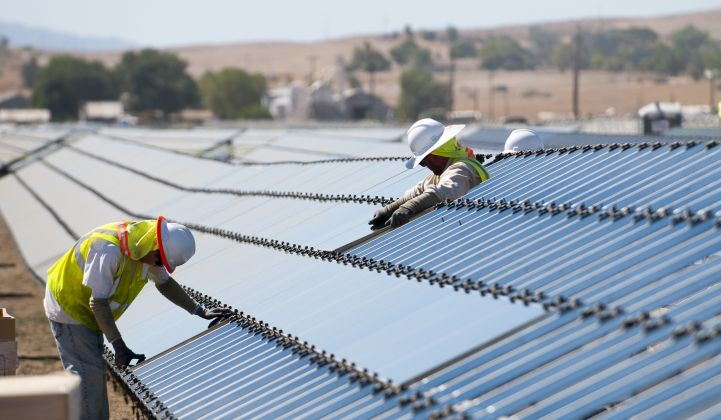 Several of the largest U.S. solar projects are set to come online over the next two years.
