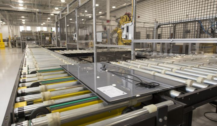 First Solar is developing a road map to drastically increase its production capacity.