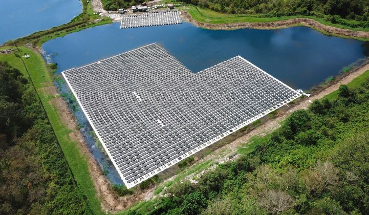 The U.S. has only about 9 megawatts of floating PV currently installed. Credit: D3Energy