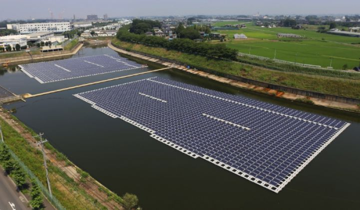 Japan to Build World's Biggest Floating Solar Farm