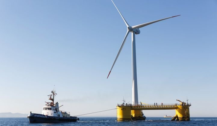 """We are trying to find economically attractive solutions for floating offshore wind turbines."
